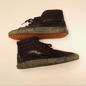 Vans Shoes - VANS SK8-HI SKATE SHOES Men's Black